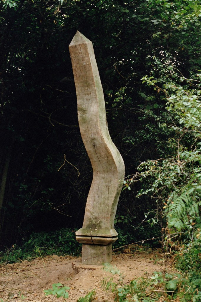 Stephen Rowley.  Wobelisk Oak, Cam, Gloucestershire