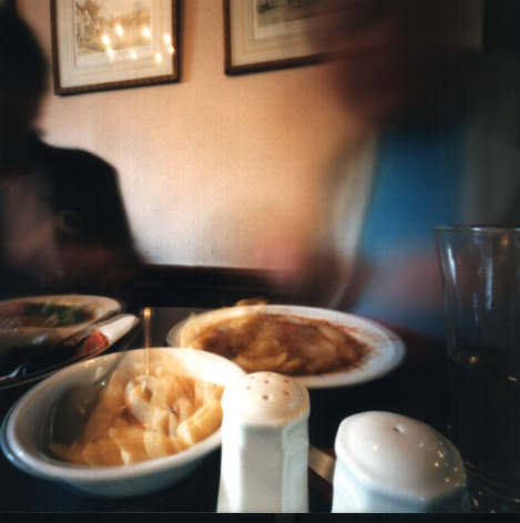 Stephen Rowley, Lunch 2001 pinhole photograph